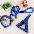 New hot pet dog leash harness collar set nylon dog leash for small and large dogs rope pet supplies Dog Collar Leash accessories