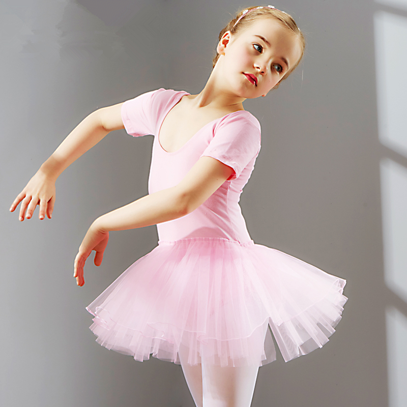 eb6df21c6489 New Lovely Pink Child Ballet Leotard Tutu