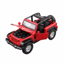 kids diecasr car model pull back vehicle toys sound light for toddlers christmas gift f jeep mode nuoya001 jeep 1355cm 132