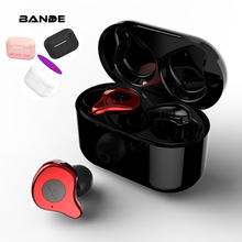 Wireless Bluetooth Earphone Stereo Sports Waterproof Earbuds in ear With Mic
