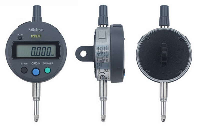 Range: 0-12.7mm Resolution 0.01mm//0.0005inch PRESET MeterTo Digital Dial Indicator with USB Cable and Software ABS