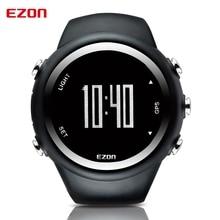 EZON GPS Distance Vitesse Calories Moniteur Hommes Montres de Sport Étanche 50 m Montre Numérique Course à Pied Randonnée Montre-Bracelet Montre Homme