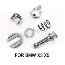 Промо-запчасти, набор для ремонта цилиндра дверного замка для BMW X3 X5, передний правый левый завод, промоакция
