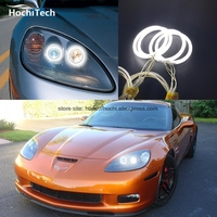 HochiTech Ccfl Angel Eyes Kit White 6000k Ccfl Halo Rings Headlight For Chevrolet Corvette 2005 To