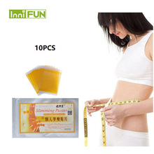 10pcs/back Fast Slimming Diet Products No-diet Weight Loss Patch Slim Patches Fat Burning Health Care
