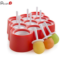Lollipop Popsicle Ice Mold Silicone Holder Sticks Candy Bar Cream Chocolate Sugar Ball Molds