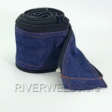 TIG Welding Torch Cable Cover Cowboy Zipper Jacket 3.6 Meter & 11-1/8 Feet