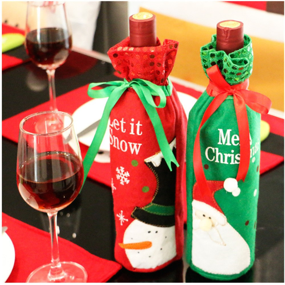 1pc-Christmas-Wine-Bottle-Bag-Dinner-Party-Decoration-Bow-Knot-Snowman-Christmas-Tree-Santa-Claus-Bottle
