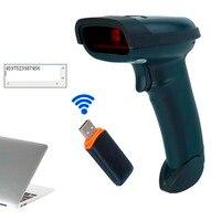 High Sensitive Wireless USB Laser Bar Code Scanner Reader One Dimensional Bar Code Scanner Mobile Payment