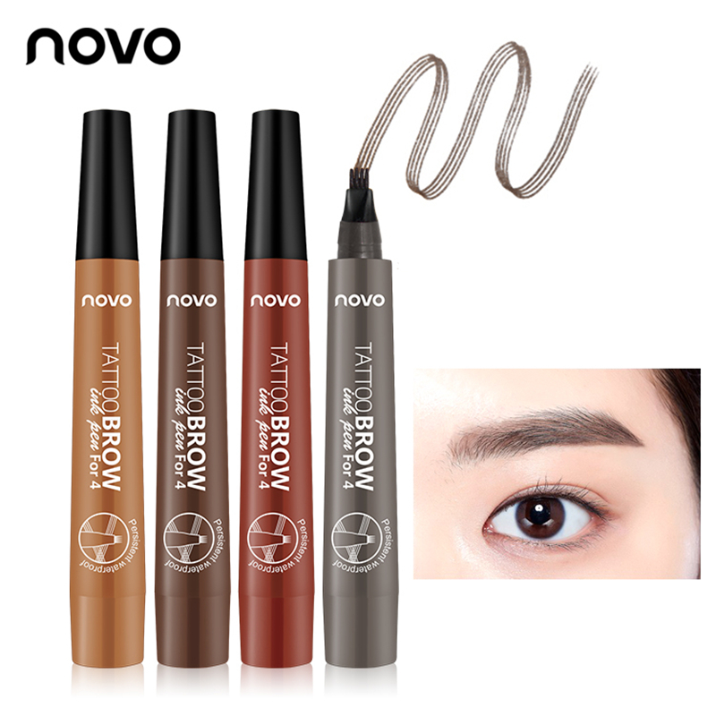 Beauty Essentials Long-lasting Non-staining Waterproof And Sweat-proof Seal Eyeliner 3 Sets Of Non-marking Big Eyes Fixed Makeup Beginner Eyeliner Sturdy Construction Eyeliner