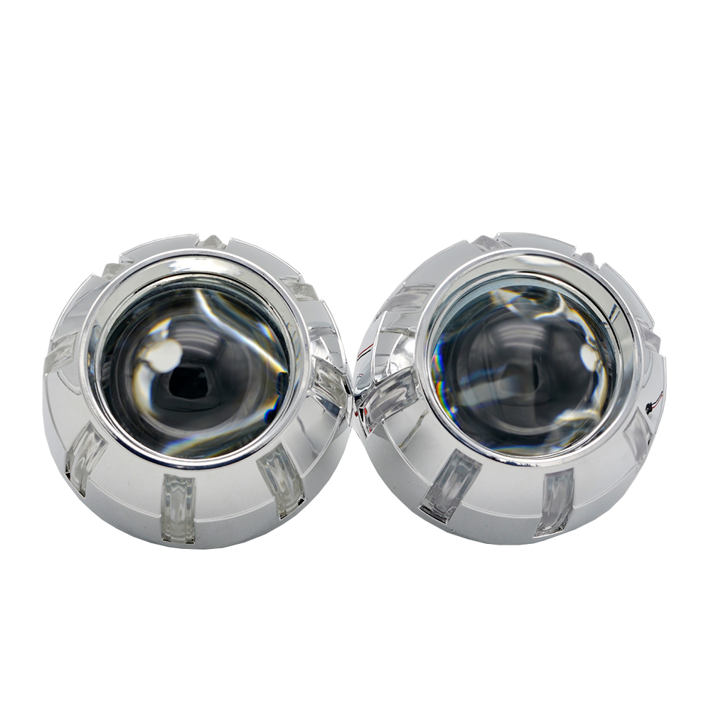 3 0 inch H7Q5 Bixenon car hid Projector lens with shrouds demon eyes h7 lamp model