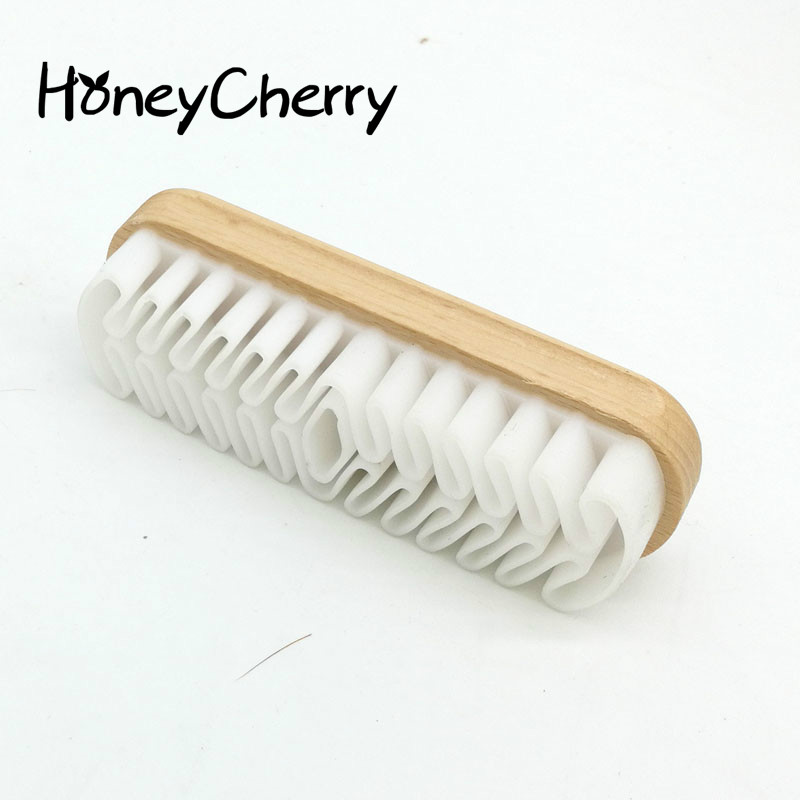 Shoes Brush White Rubber Crepe Shoe Brush Leather Brush For Suede Boots Bags Scrubber Cleaner