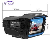 2018 Russian Anti Radar Dash Cam DVR Video Registrator Auto 3 In 1 Dash Cam Car DVR Radar Detector GPS Tracker Driving Recorder