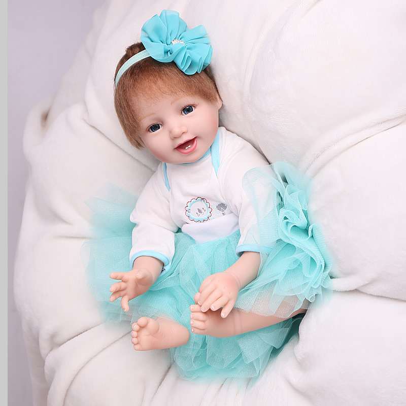 NPK doll Reborn baby 55cm Realistic Soft vinyl 22inch bebe reborn Baby Doll Lifelike Silicone Toys For girls Gift collection NPK doll Reborn baby 55cm Realistic Soft vinyl 22inch bebe reborn Baby Doll Lifelike Silicone Toys For girls Gift collection