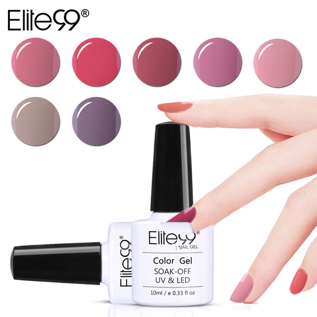 Elite99 10 ml UV Gel Nagellack Nude Farbe Nagel Gel Polnisch Vernis Semi Permanent Nagel Primer Gel Lacke Gel lak Lack