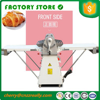 2017 new 220v Food grade material bakery equipment pizza dough sheeter machine for sale shipping by sea