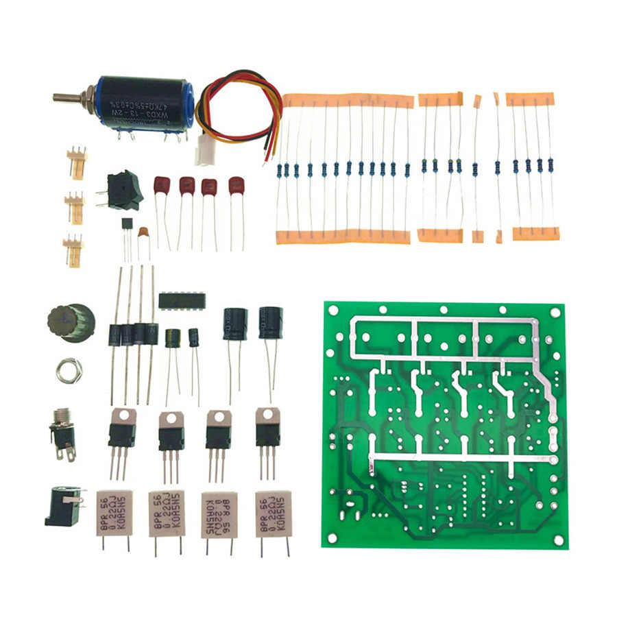 DIY LM324 Elektronik Yük Güç 150 W Basit Elektronik Yük Kiti