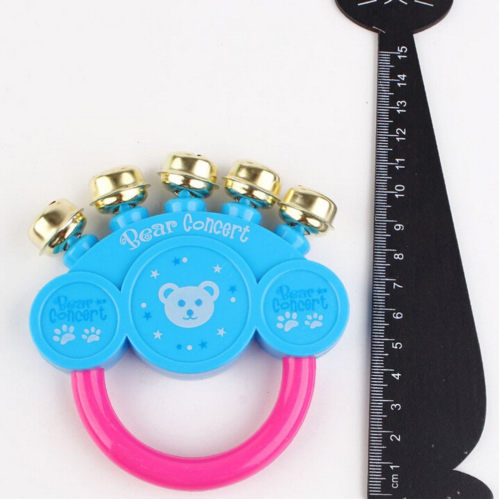 Kids Baby Design Handbell Musical Instrument Jingle Baby Rattles Toy 0-12 Months born Toys Speelgoed Baby