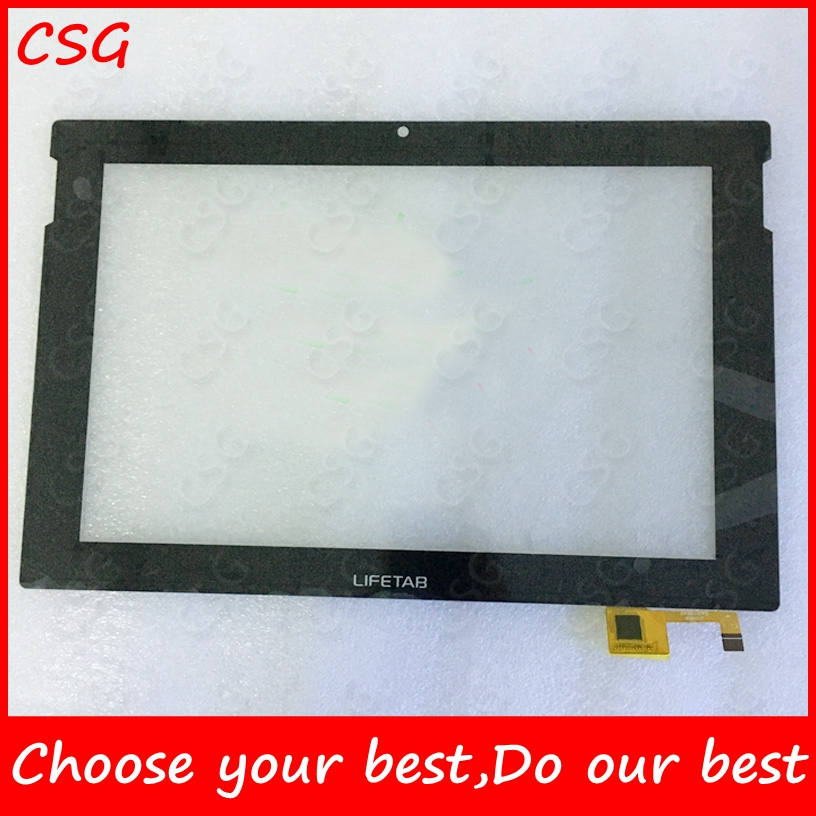 Original 10.1 inch DY10118(V4) Touch for LIFETAB touch screen panel digitizer tablet touch sensor replacement Free shipping
