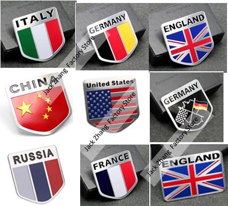 50x 50mm car aluminum alloy union jack uk flag badge sticker emblem decal sticker car sticker usa germany russian flag harleey on aliexpress com alibaba