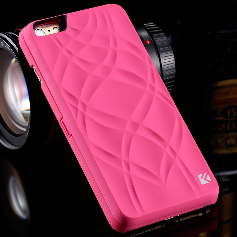 big sale c7faf 641ed US $4.49 10% OFF|FLOVEME Mirror Wallet Back Case For iPhone 6 6s 7 Plus  Case Waterflow Grid Pattern Card Slot Cover For iPhone7 7 Plus Woman  Bags-in ...