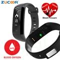 M2 de Banda Inteligente de La Presión Arterial de Oxígeno Oxímetro Frecuencia Cardíaca Bluetooth Pulsera Deporte Salud Banda Para iOS Android Teléfono Inteligente