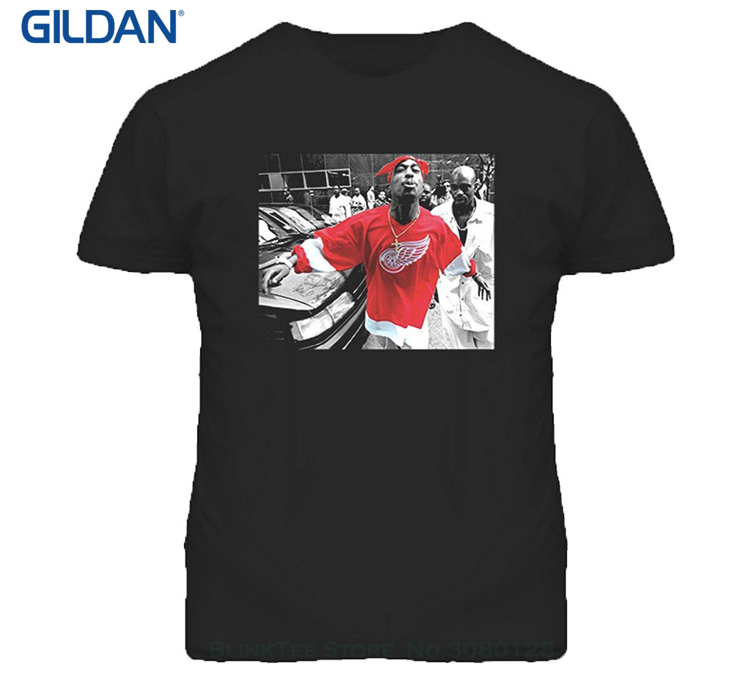 Worldstarhiphop Mobile App - Gildan fashion classic world star hiphop tupac shakur 2pac detroit spitting hip hop rap t shirt
