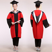 Unisex Academic Dress Bachelor Clothing Agricultural Science Technology Graduate Bachelor Clothing Graduation Gown Caps