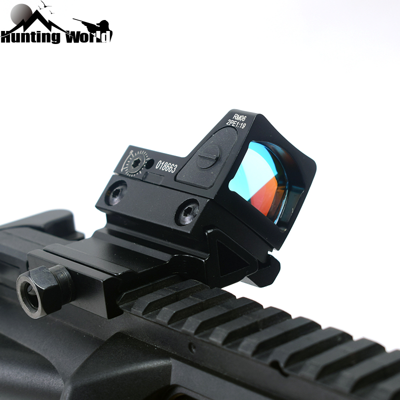 Tactical Mini Ruggedized Trijicon Red Dot Sight Rifle Scope Reflex Sight Collimator For Hunting Rifle Glock Handgun Pistol
