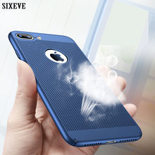 7 SIXEVE Case Para iPhone iPhone iPhone 6 6 s s 7 8 Plus iPhone X XS Max XR 5 5S SE 5SE 8 7 6 Plus Plus Plus Duro Tampa Da Caixa de Telefone(China)