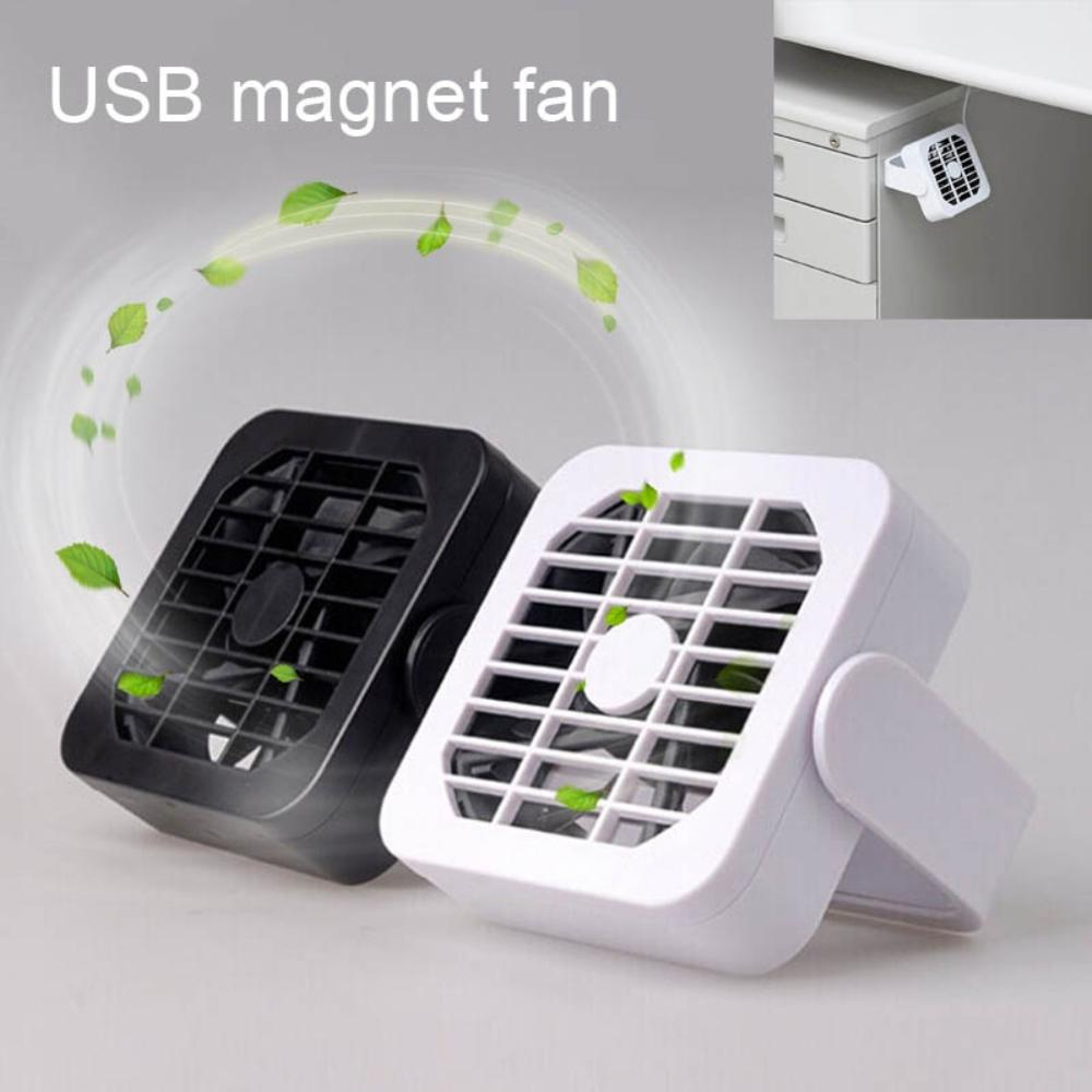 Ultra Quiet Mini 360 Rotating Flexible Radiator Magnet Fan USB Gadget Portable|Fans| |  - title=