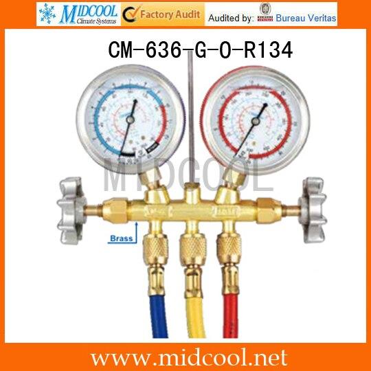 Test Manifoldlar CM-636-G-O-R134Test Manifoldlar CM-636-G-O-R134