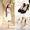 Zapatos Mujer Tacon Специальное Предложение Базовая Peep Toe Лето Зрелые Женщины Большой Размер Новые 2017 Обувь, личность, высокие Каблуки