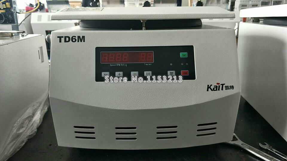 Laboratory centrifuge TD6M 6000rpm low-speed desktop centrifuge medical experiment digital display centrifuge 50ml*6 laboratory centrifuge td5 2 5000rpm low speed desktop centrifuge medical experiment digital display centrifuge 15ml 24 placer