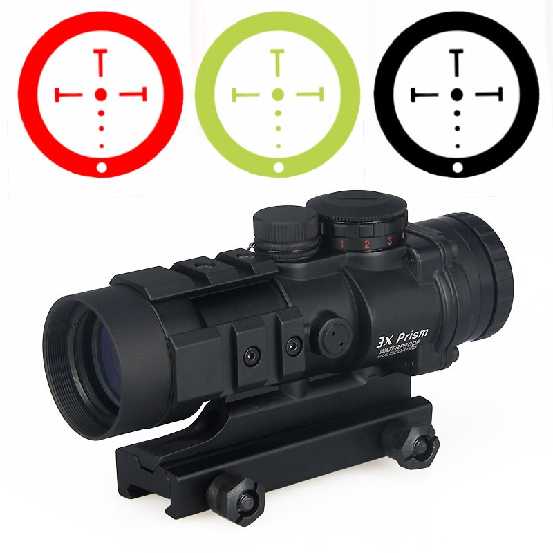 Airsoft tático óptica rifle scope burris AR-332