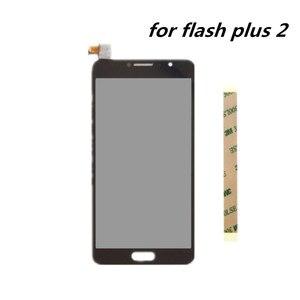 Image 1 - 5.5 inch Voor ALCATEL FLASH PLUS 2 LCD Montage Scherm + Touch Screen Panel Vervanging voor ALCATEL FLASH PLUS 2 mobiele Telefoon