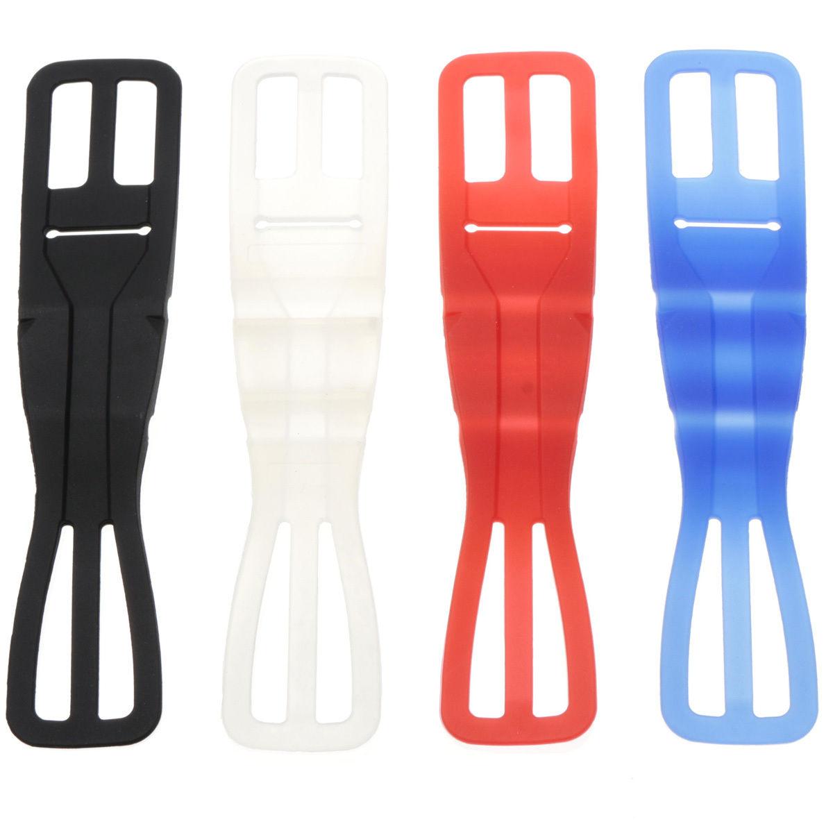 Universalus silikono elastinių dviračių motociklų laikiklis, skirtas mobiliajam telefonui
