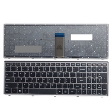 США серебро новый английский Заменить Клавиатура ноутбука для Lenovo U510 u510-ifi Z710