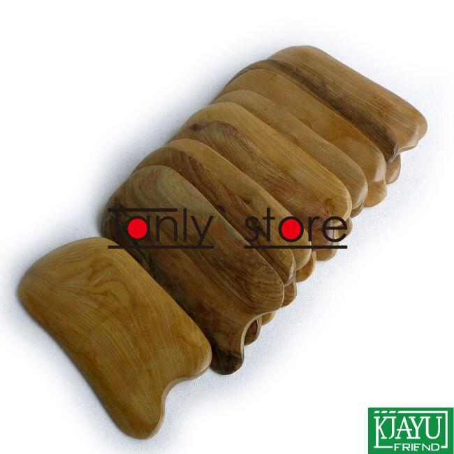 Gift gua sha chart & bag! Wholesale scented wood ma