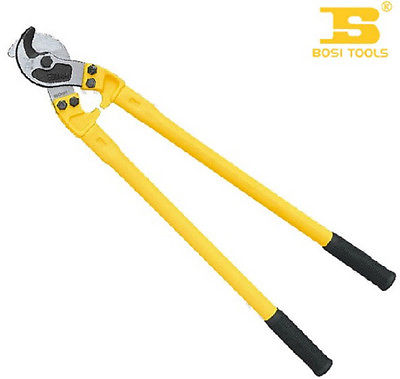 800mm 32-Inch High Manganese Steel Cable Cutter with Double Color Handle bosi tool 12 inch round pipe hacksaw frame with double color tpr handle