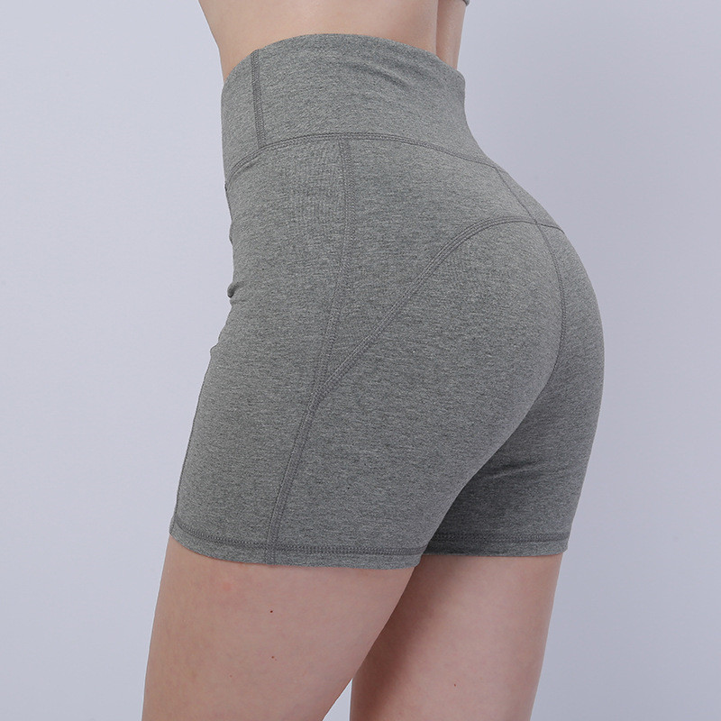 Fashion Yoga Short Seamless Leggings Women 39 s Running Sports Breathable Fast Dry High Waist Gym Running Shorts Femme 2019 New in Yoga Shorts from Sports amp Entertainment