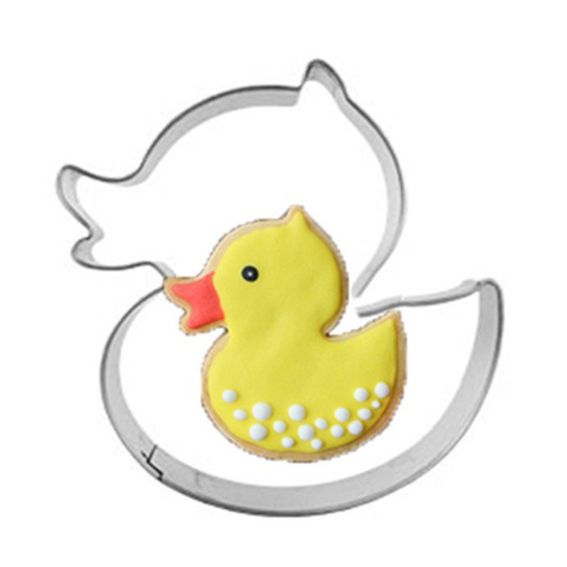 Yellow Duck Meat Press Egg Biscuit Cookie Cutter Tools Kitchen Stainless Steel Chinese Market Online Baking Fondant Party Decor