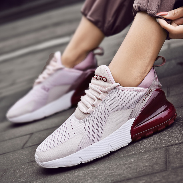wholesale dealer da5f3 326ee US $14.75 25% OFF|Brand Designer Women Running Shoes Air Mesh Breathable  zapatillas mujer deportiva Hot Sale Women Sport Shoes Jogging Sneakers-in  ...