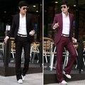 2016 Delgado Custom Fit Tuxedo Bridegroon Hombres de Vestir de Negocios Trajes Chaqueta, Traje de Moda Blazer, chaqueta + Pantalones trajes para hombre con los pantalones