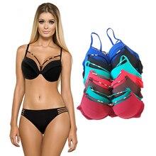 New Arrivals bikini 2017  swimwear women Bandage Bikini Sets Push Up Bra Swimsuit Bathing Suit Brazilian Biqui swimming suit