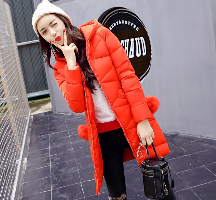 HCBLESS Women Winter Jakcet  2017 New  Down Cotton Jacket Long Thick Parkas Female Cotton Padded Coat Outerwear 2016 new winter jacket skirt real down jakcet thick long down jacket korean slim brand coat womens down jackets parkas feminina