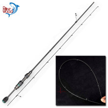 RoseWood UL Fishing Rod 1.5m/1.68m/1.8m/2.1m Super Light High Carbon Solid Fishing Tips Spinning Rods