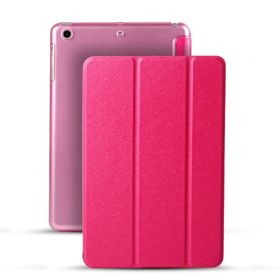 Cover Case for iPad Mini 1 2 3 Case PU Leather Silicone Soft Back Trifold Cover Case for iPad Mini 2 Case