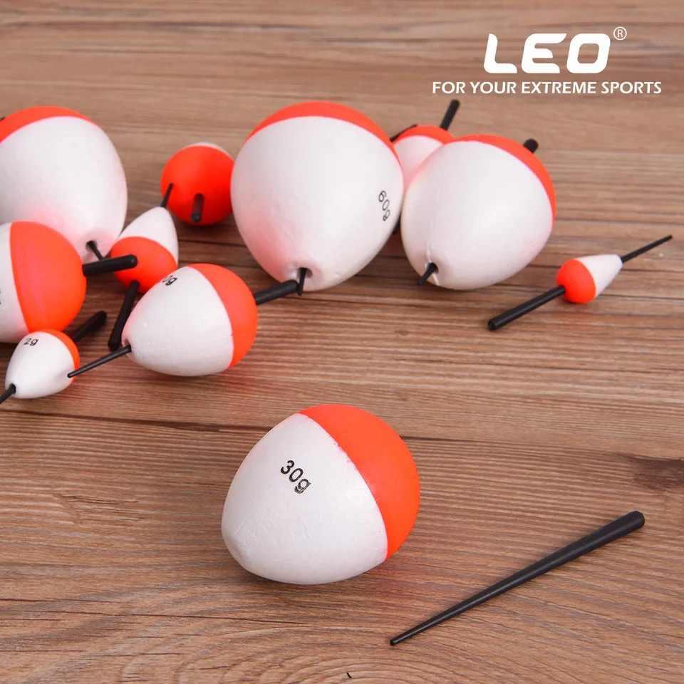 5 ชิ้น/ล็อต 0.8g-60g โฟมลอยตกปลาลอยหลอดโฟมลอย Boias de pesca Flotador Bobber ตกปลา light Stick สำหรับตกปลา