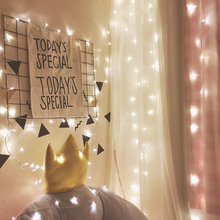 Holiday Garlands 10M 100 Leds Stränglampor AC220V / 110V EU / US-kontakt för Party Bedroom Christmas Wedding Fairy mini lampor UR